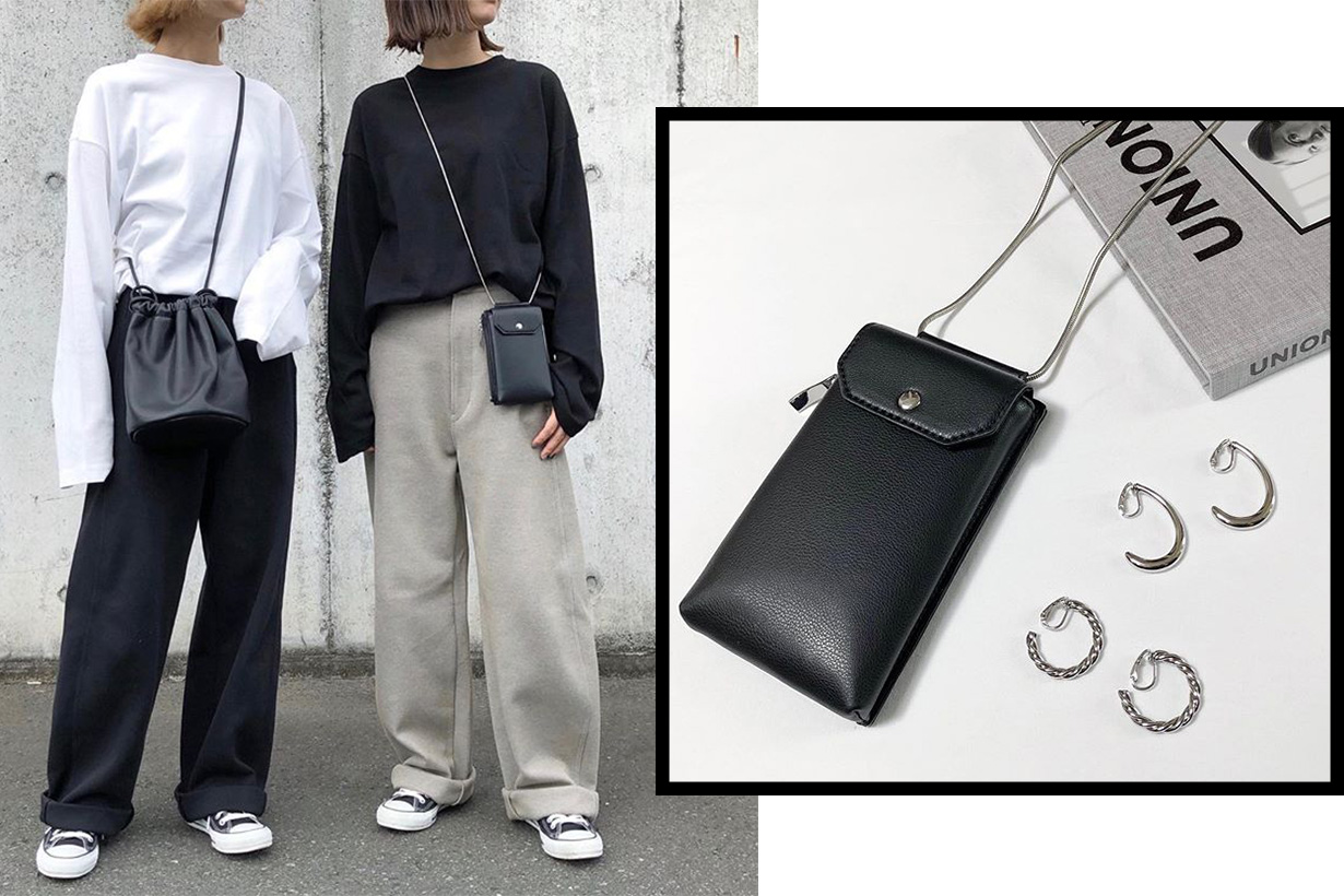 GU Japan bag accessories street style instagram