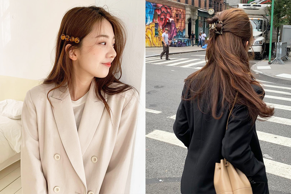 Hair Clip Trend 2019 Fall Winter Hairstyles Hair Styling Tips Hairstyles Trend Korean Girls Hair tutorial