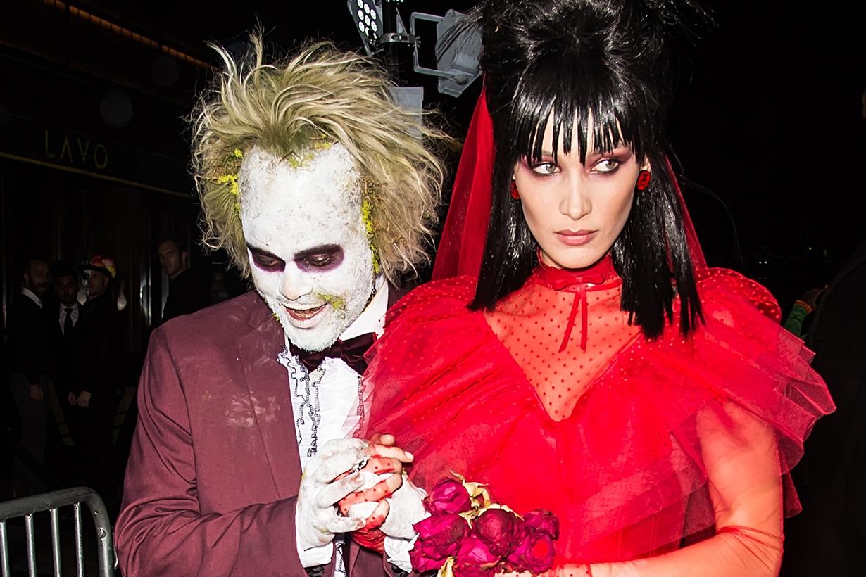 Halloween celebrities costume party style 2019