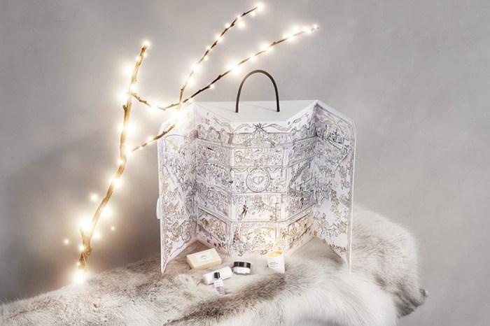 美如夢境:Maison Christian Dior 絕美聖誕倒數月曆,飄灑下一片浪漫白雪!