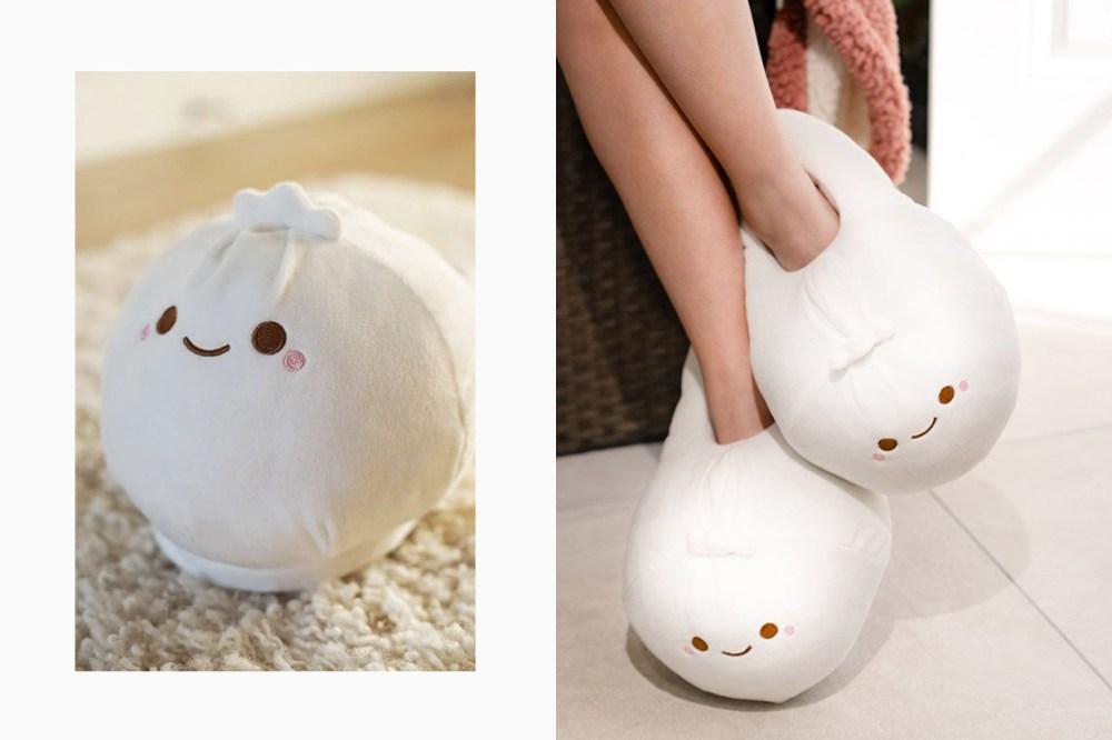 smoko dumpling slippers bao heated usb shoes