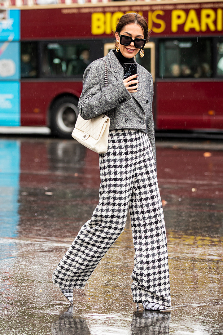 Houndstooth Pattern Fall Trend 2019