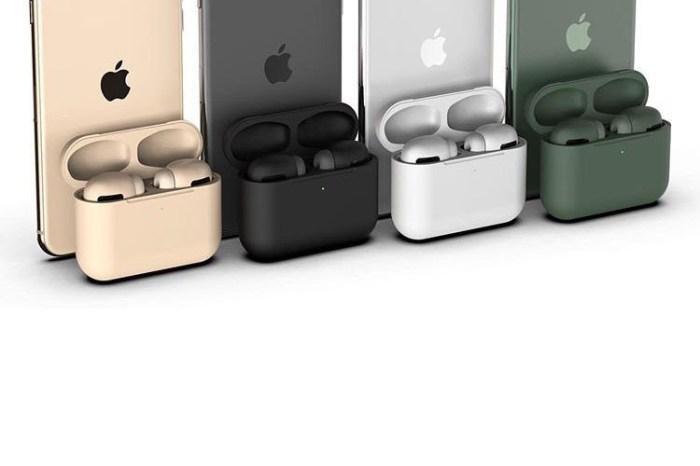 為了迎合 iPhone 11 的配色,據傳 AirPods Pro 將會推出多款不同顏色!