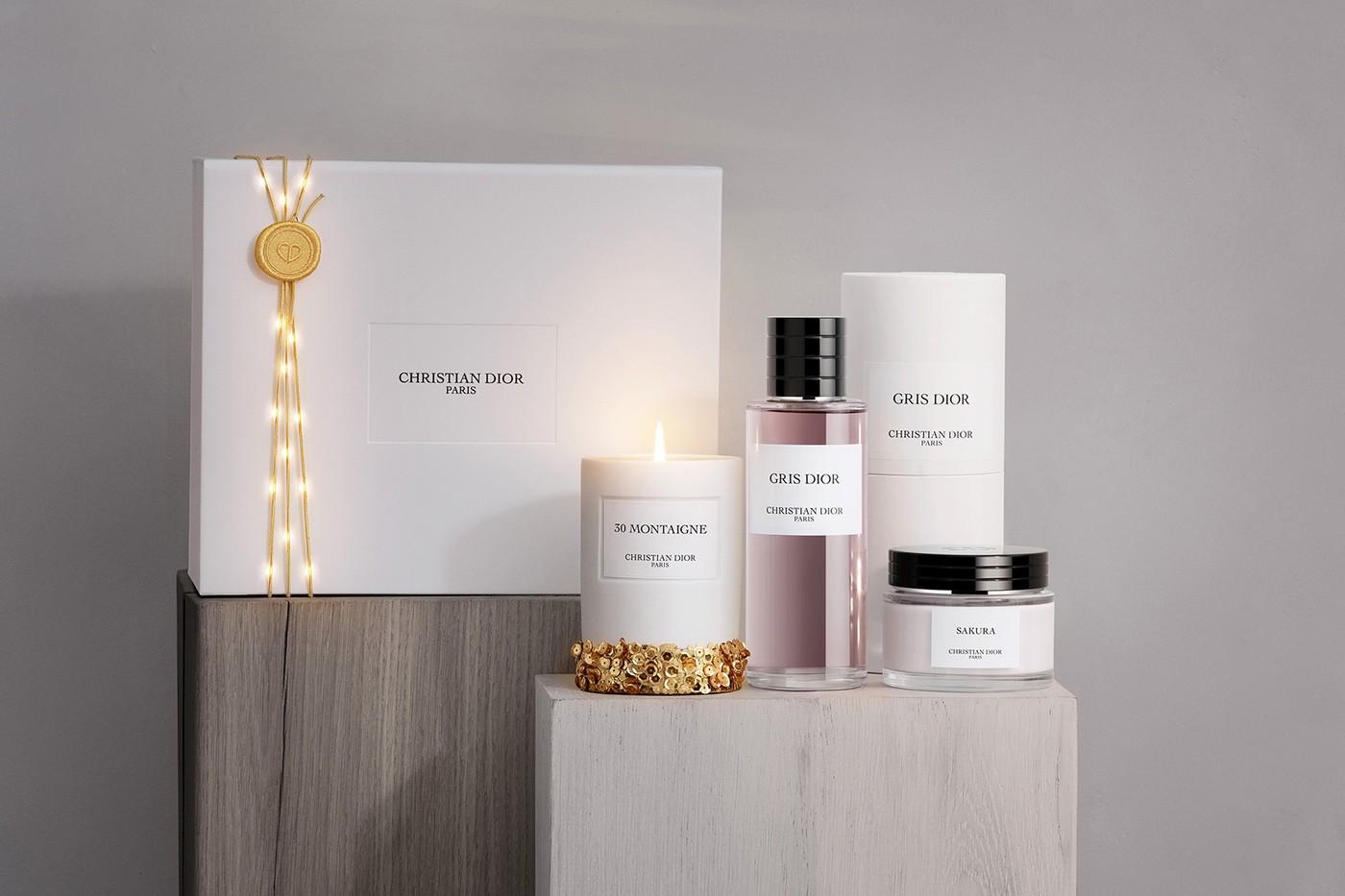 christian dior christmas advent calendar candles perfumes body cream release