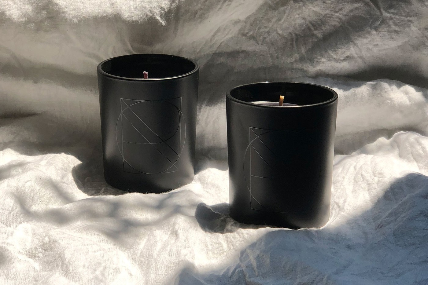 nanor candles black chic homeware woody floral fragrance aroma montreal