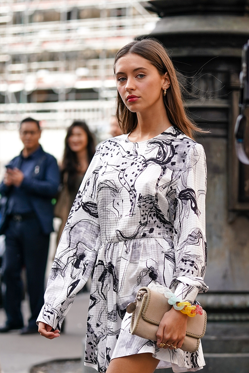 iris law jude law daughter paris fashion week