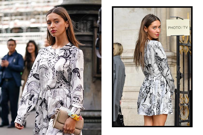 iris law jude law daughter paris fashion week