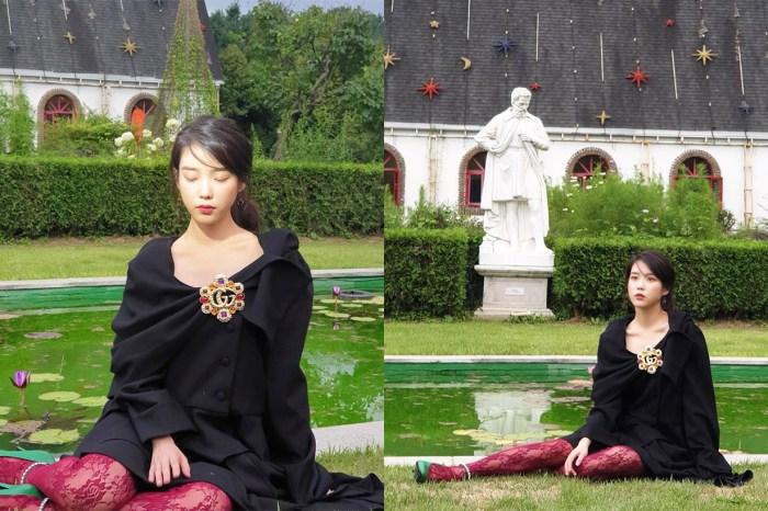 IU 延續《德魯納酒店》滿月社長的時尚基因,為雜誌拍攝封面展現秋冬浪漫氛圍!