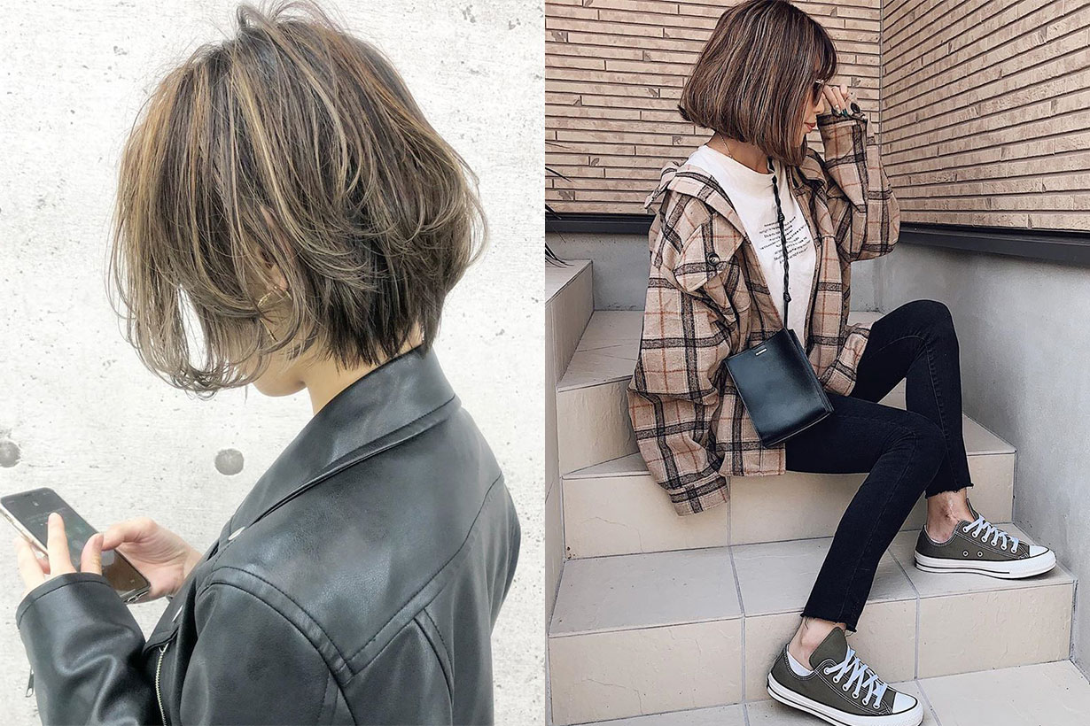 bob hairstyle for asian girls japanese instagram 2019