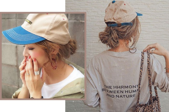 日本女孩分享超簡易帽子髮型影片教學! 3 分鐘就可直奔出門