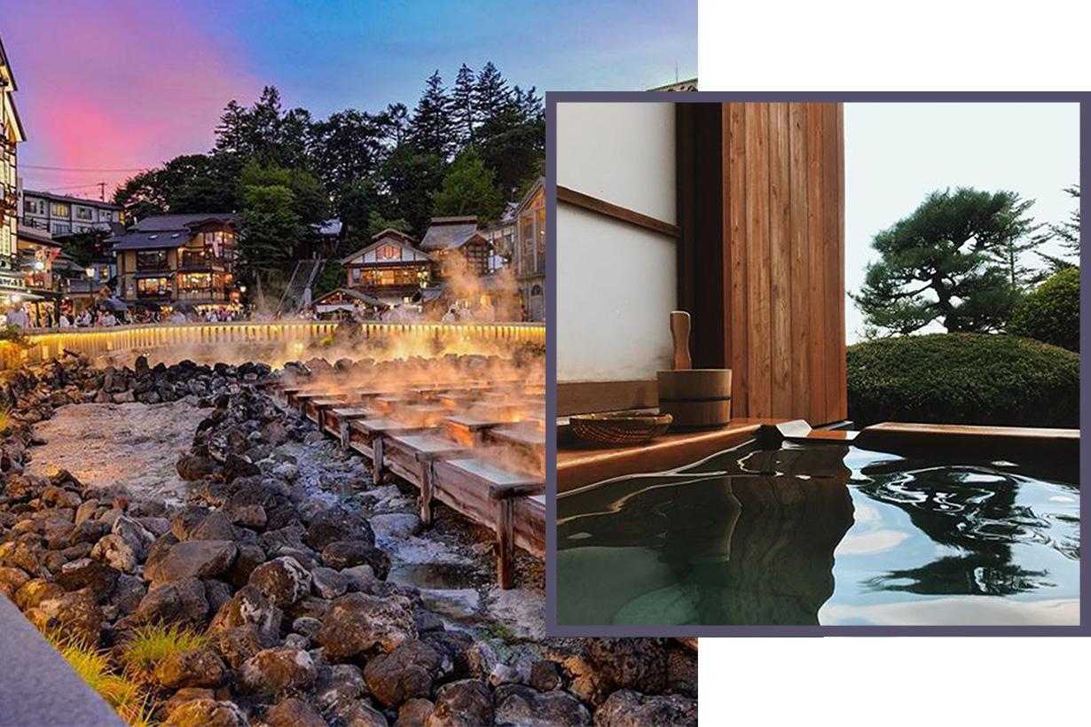Japan Onsen Hot spring