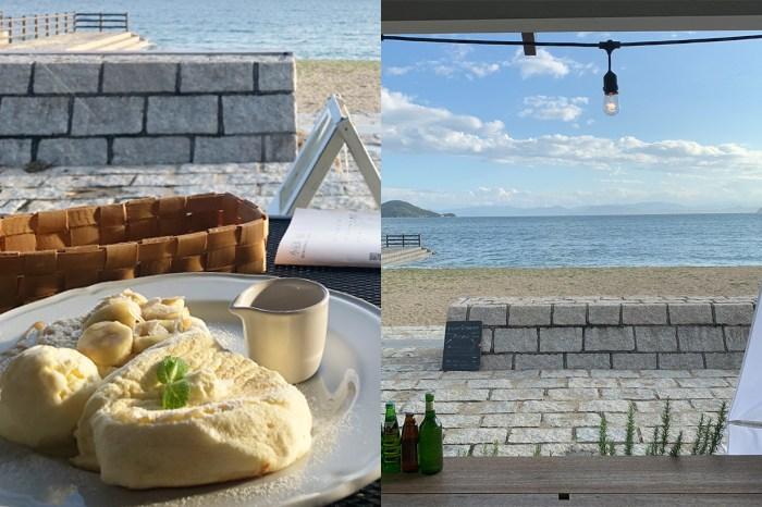 #POPSPOTS in Japan:藏在小島上的絕景咖啡廳,走路 30 秒就是大海!
