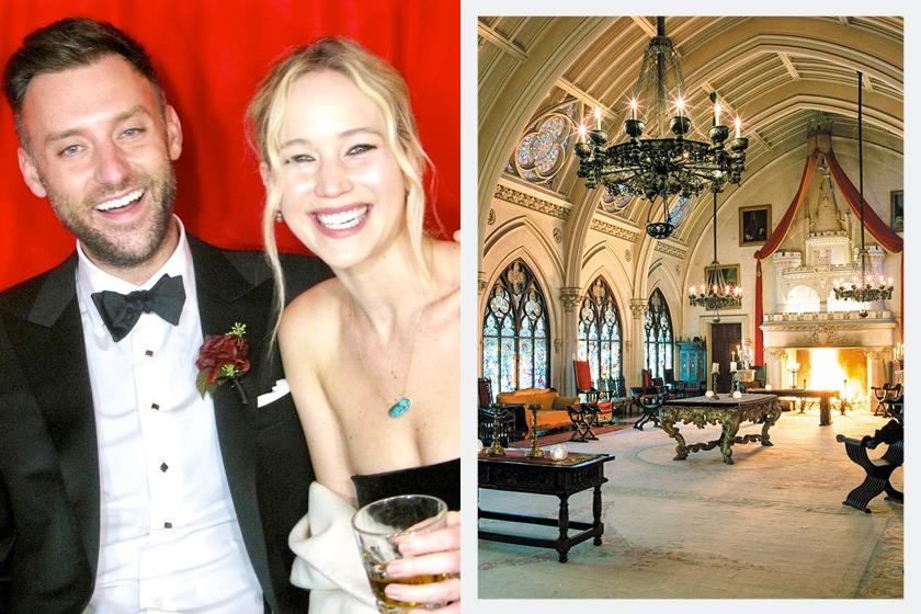 jennifer lawrence wedding cooke where castle guest menu