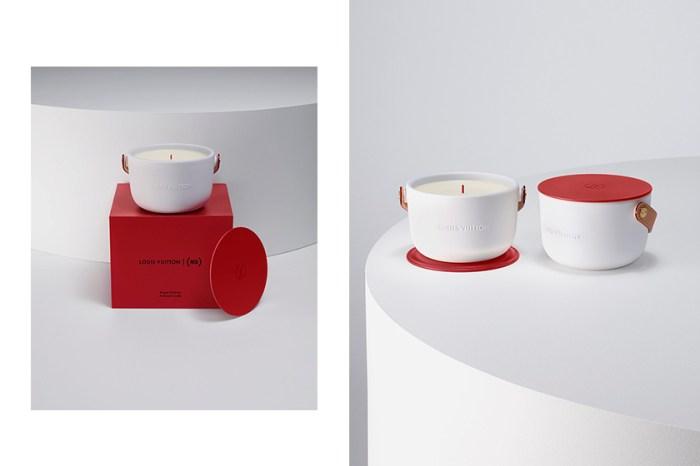 Louis Vuitton 推出這款紅白香氛蠟燭,背後設計原因含有著這一層意義!