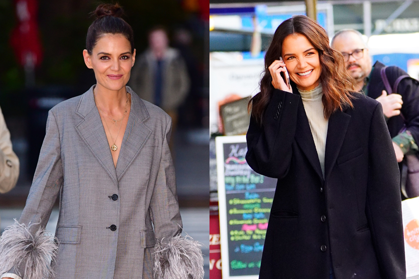 katie holmes styling inspiration effortless chic