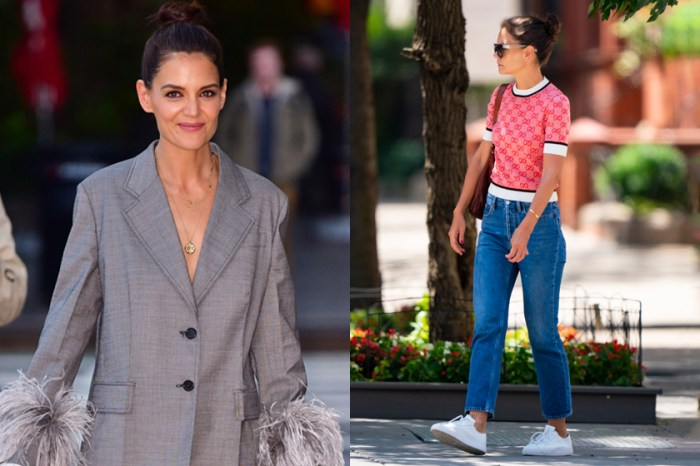 日常穿搭的靈感繆思,向 Katie Holmes 學習女人的 Effortless Chic Style!