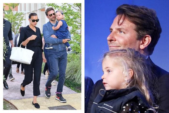 Bradley&Irina 的女兒  Lea 首次公開亮相,可愛的模樣成為場外焦點!