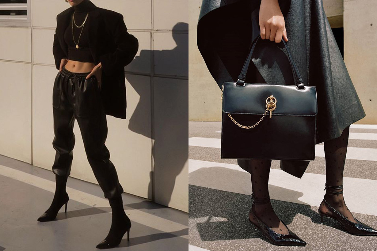 leather items for fall 2019 which always looks luxe