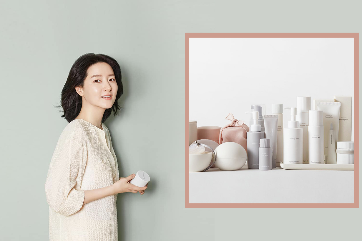 Lee Young Ae Skincare Brand Lyanature korean skincare korean idols celebrities actresses