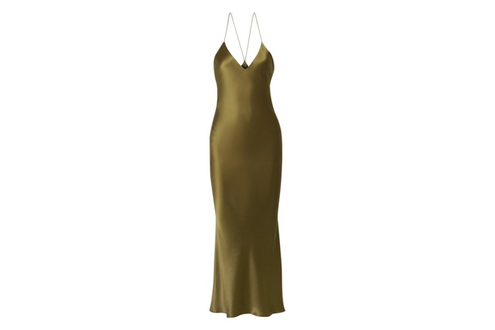 Lewis Silk-Charmeuse Maxi Dress