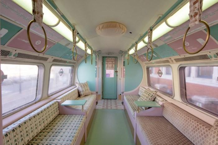 倫敦地鐵有了新面貌:改造 1967 年老車廂,幾何圖騰的天鵝絨布面美到窒息!