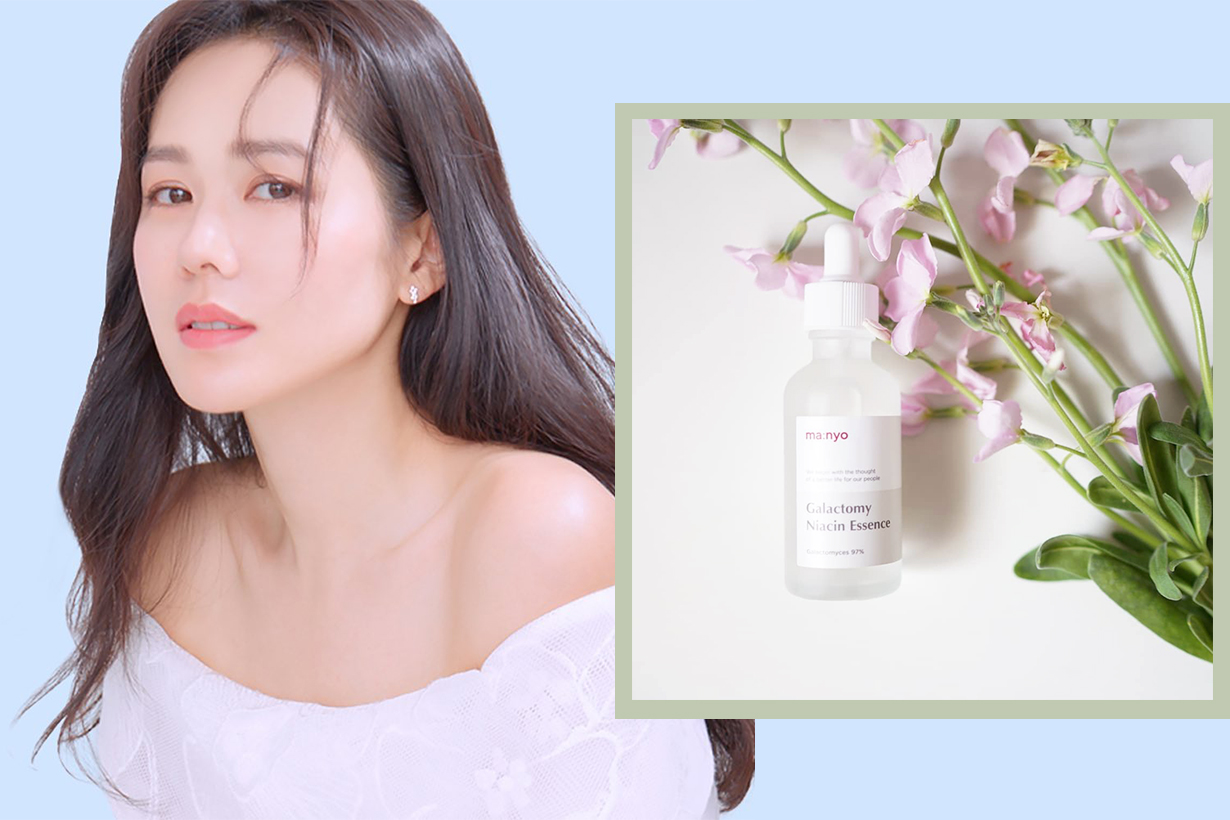 Manyo Factory Galactomy Niacin Essence Korean skincare shrinking pores balancing oil whitening exfoliating cleansing anti aging korean girls