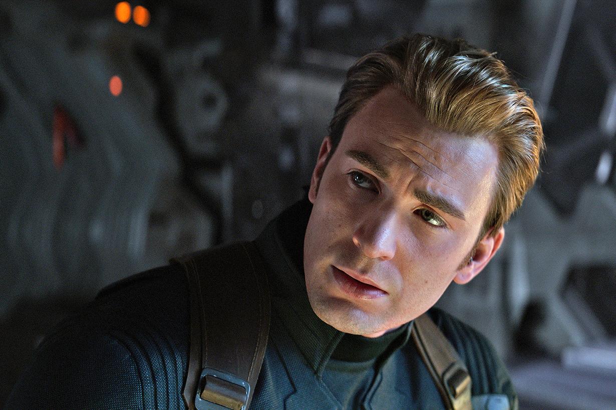 marvel captain america chris evans wig avengers