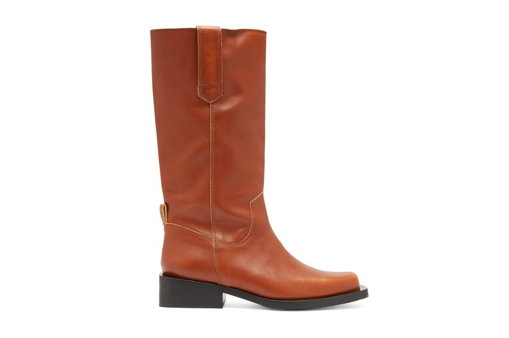 MC Distressed Leather Western Boots