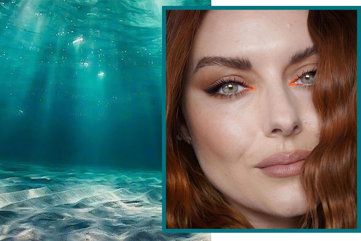 Mermaid Tears makeup eyeshadow fall 2019 instagram