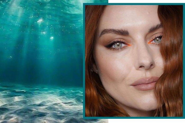 什麼是「美人魚淚妝」?歐美女生之間開始流行的化妝技巧