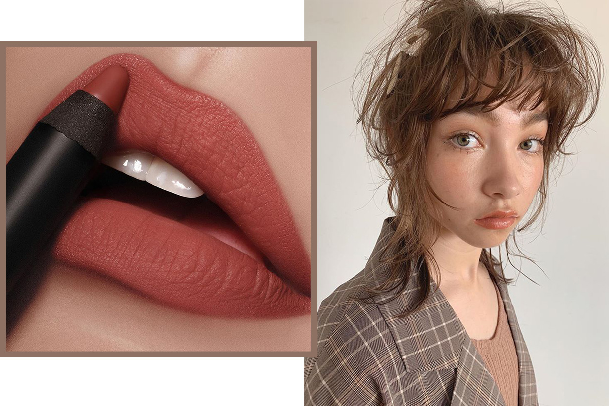 Milk tea color lipsticks for fall 2019