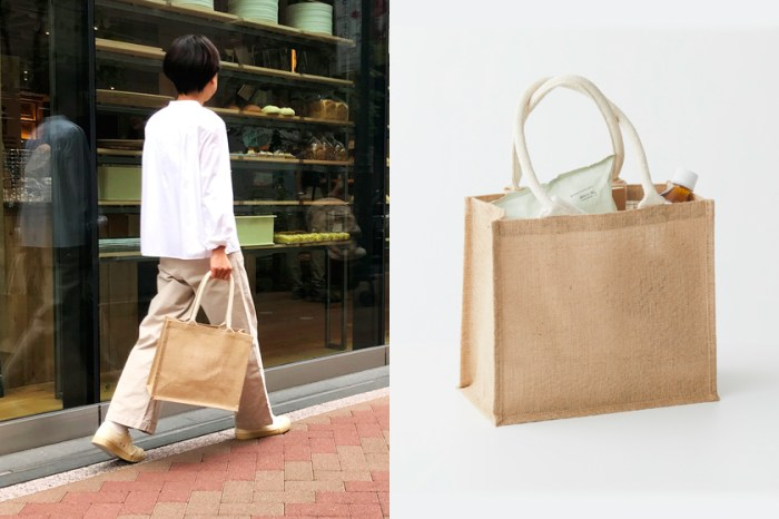 無印良品竟也有炒價商品?日本女生都在等的這款高性價比「麻布手袋」補貨!