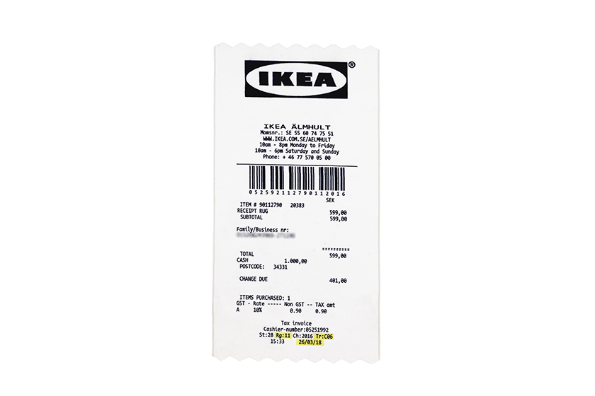 off-white ikea collabraiton home living price limited online booking