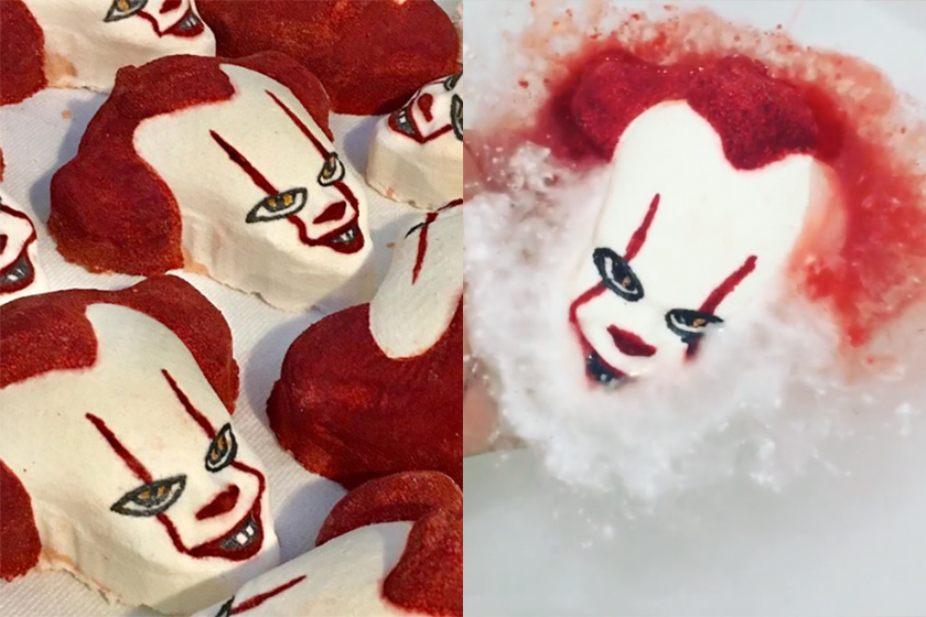 pennywise IT movie bath bombs etsy halloween