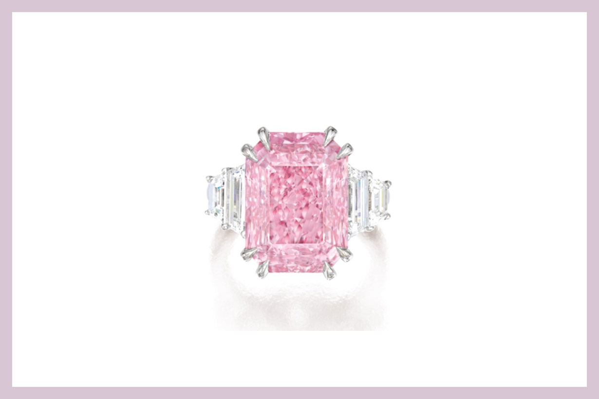Fancy Vivid Purplish Pink Diamond Sotheby's Auction