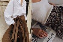 優雅又易襯:秋冬只可以挑一條裙?街拍女生認定了這款!
