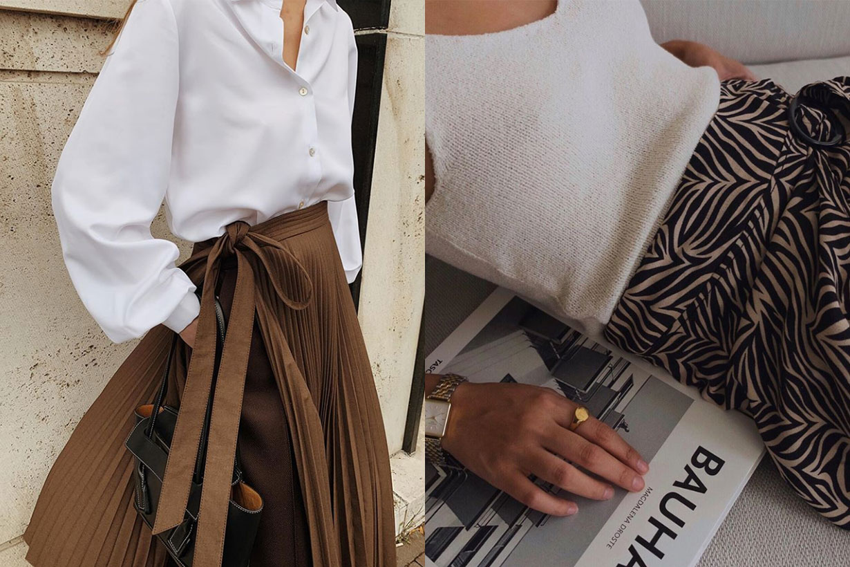 Pleated Skirt Trend 2019 Fall
