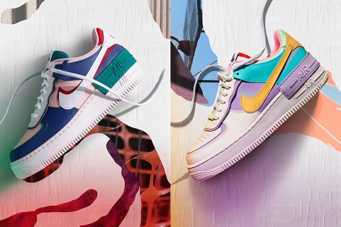 #POPBEEgiveaway:大玩創意設計,送出全新 AF1 Shadow 運動鞋兩雙!