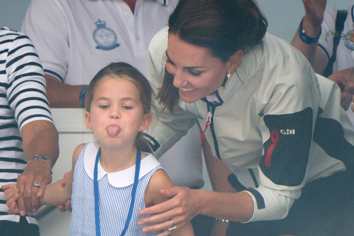 Princess Charlotte Kate Middleton love spicy food