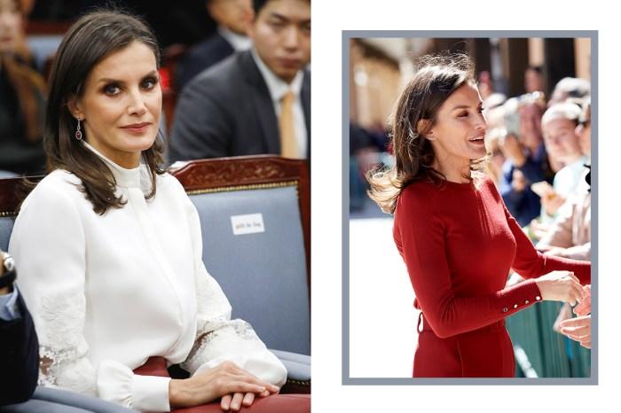簡約得體的職場風!西班牙王后這身穿搭,證明細節才是關鍵