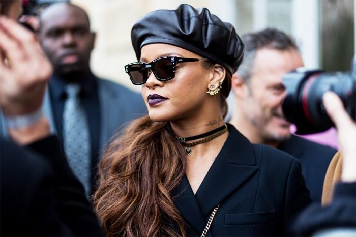 Rihanna 以瀏海新造型亮相!網民:像回到了少女時代!