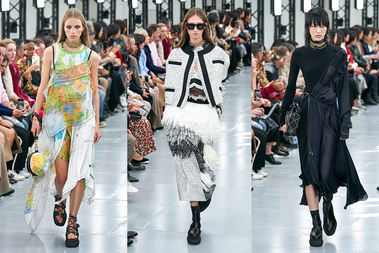 sacai chitose abe ss20 paris fashion week