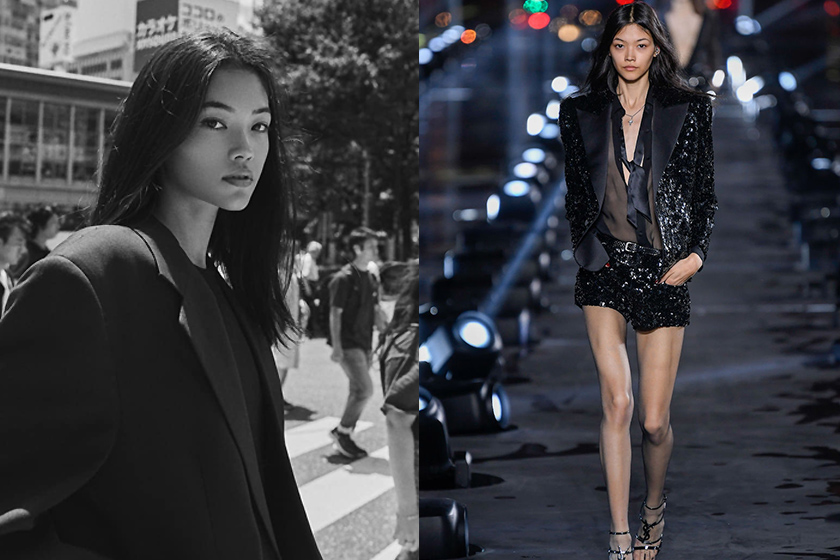2020 Paris fashion week Japan French model Mika
