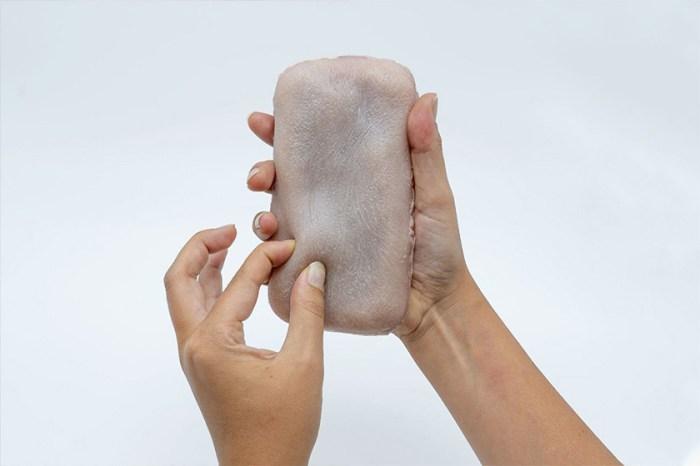 你敢使用嗎?長相其貌不揚,但這款「人造皮膚」手機殼在網路上掀起熱議!