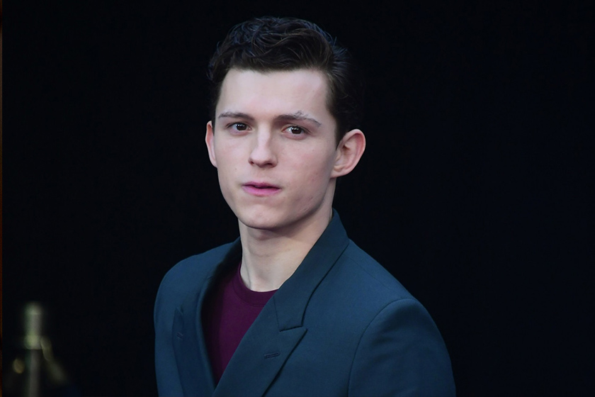 tom holland cut off hair new haircut