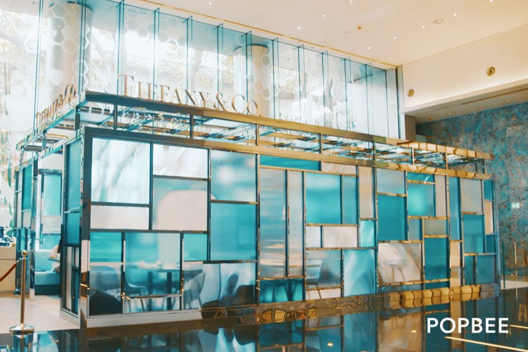 全球第二間 The Tiffany Blue Box Cafe 進駐香港!簡約玻璃茶座、湖水藍蛋糕⋯女生必定一見傾心