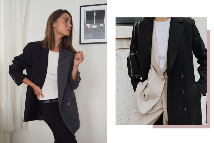 中性穿搭又想顯腰細?時尚女生示範,這款西裝外套能兩全其美!