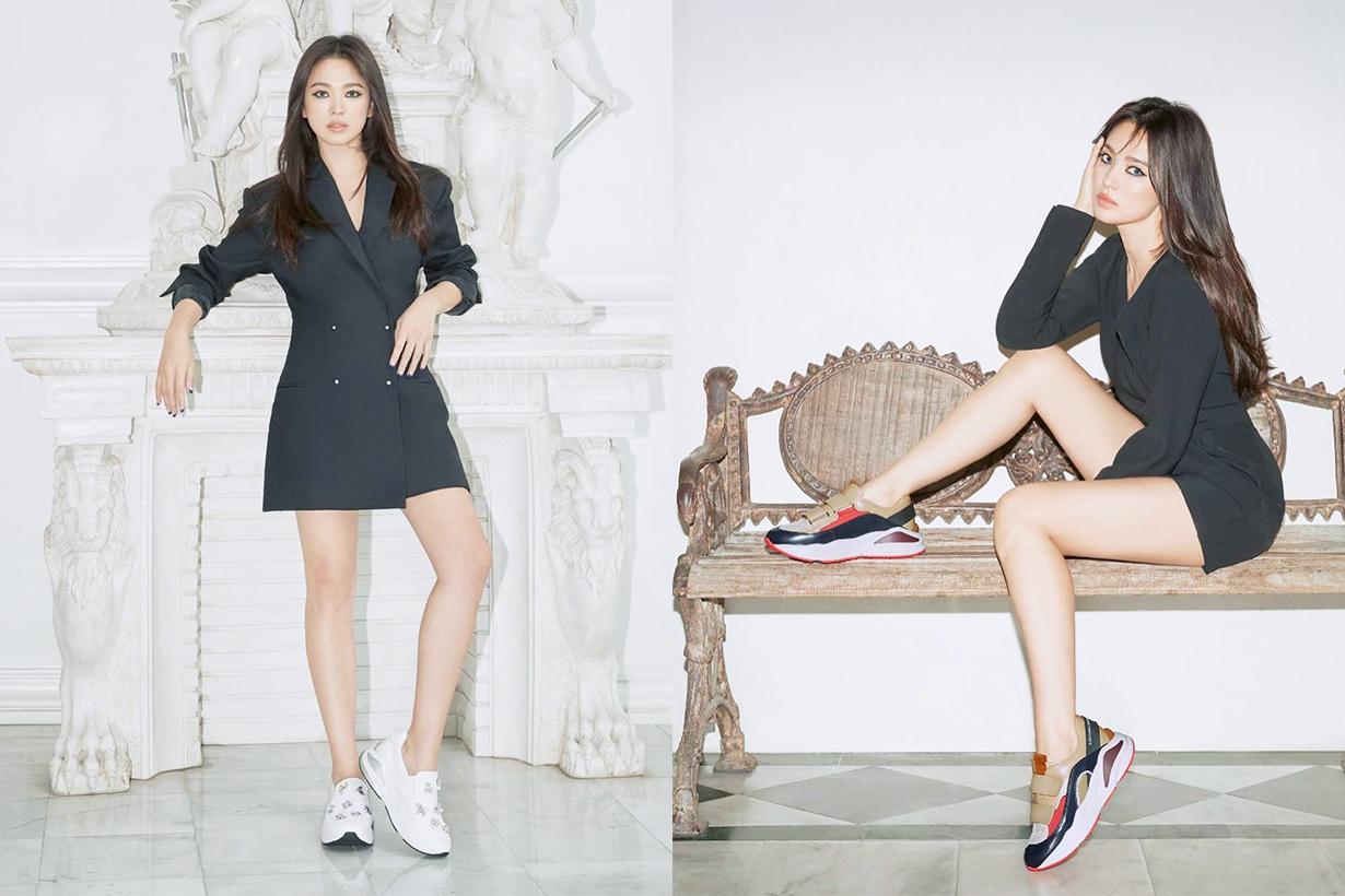 Song Hye Kyo Chaumet Lotte Avenuel Seoul event Josephine Aigrette Imperiale SUECOMMA BONNIE Anti aging k pop korean idols celebrities actresses