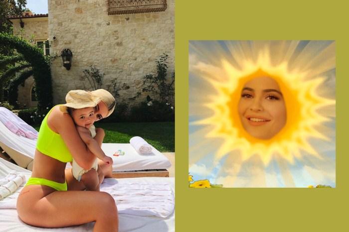 又有新話題:Kylie Jenner 竟然推出這款天線寶寶連帽衫,你們會買單嗎?