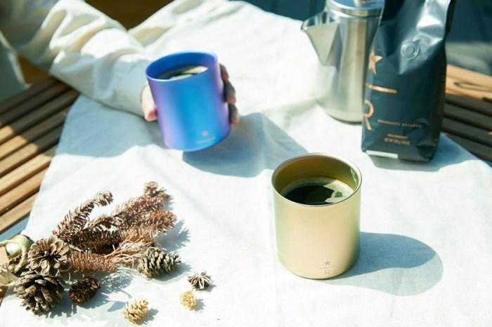 首次聯乘!日本 Starbucks x Snow Peak 推出幻彩堆疊杯及保溫瓶!